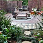 Outdoor Braai and BBQ area - TASA Lodge Guesthouse Midrand Accommodation