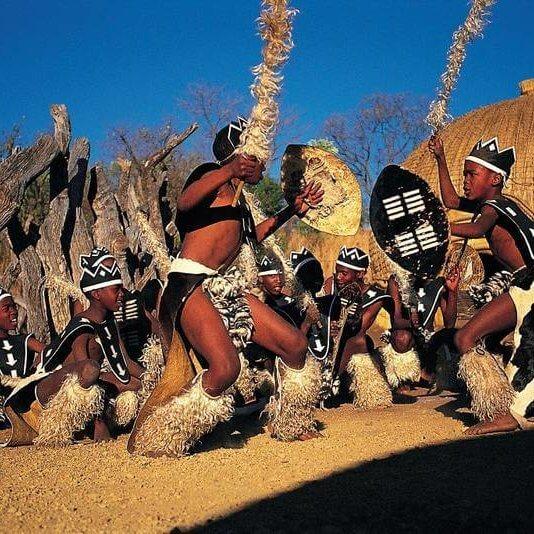 Vibrant_Zulu_dancing_at_LEsedi_Cultural_Village_Tour_by_TASA_Tours_Johannesburg_Gauteng